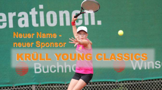 Krüll Young Classics – Neuer Sponsor, neuer Name, alles neu…