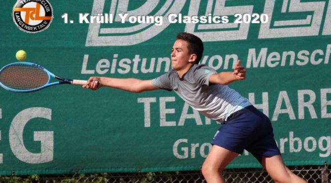 Super Tennis bei den 1. Krüll Young Classics